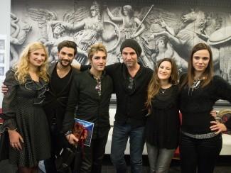 Труппа рок-мюзикла «Mozart. L'opera Rock. Le Concert»