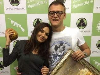 Надя Ручка и Денис Боярко