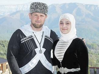 Рамзан Кадыров с дочерью Айшат