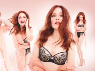 Джулианна Мур снялась в рекламе нижнего белья