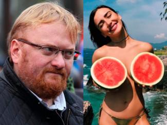 Виталий Милонов и Ольга Серябкина