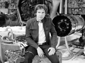 Харрисон Форд в роли Хана Соло из «Звездных войн»