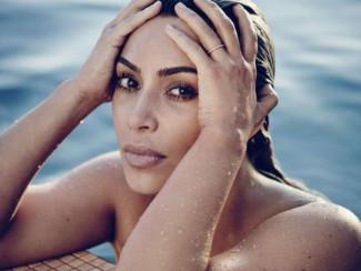 Ким Кардашьян в журнале Elle