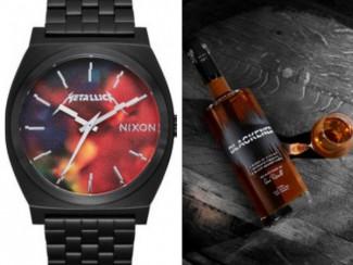 Часы и виски от группы Metallica