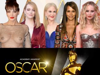 Лучшие наряды Оскара 2018