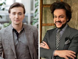 Сергей Безруков и Филипп Киркоров