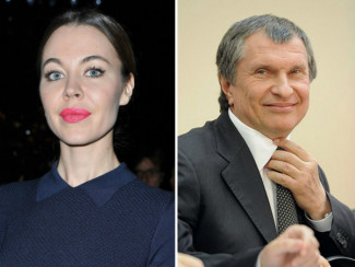 Ульяна Сергеенко и Игорь Сечин