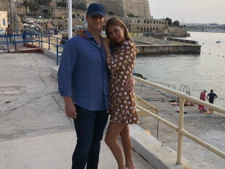 Пьер Андюран и Виктория Боня