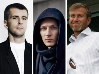 Михаил Прохоров, Павел Дуров и Роман Абрамович
