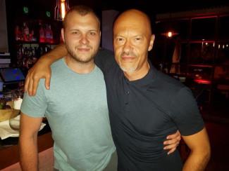 Федор Бондарчук с сыном Сергеем