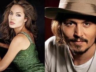Джонни Депп и Анджелина Джоли