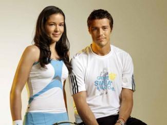 Марат Сафин и Ана Иванович