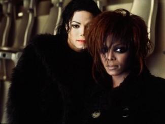 Джанет Джексон  и Майкл Джексон фото