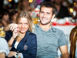 Александр Кержаков с бывшей супругой Екатериной