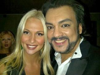 Виктория Лопырева и Филипп Киркоров