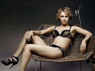 Магдалена Нойнер снялась в рекламе нижнего белья