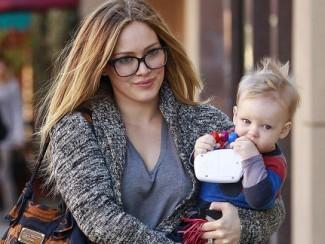 Меган Фокс с сыном Ноа