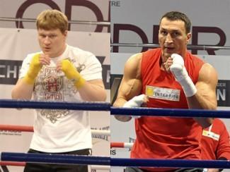 Александр Поветкин и Владимир Кличко