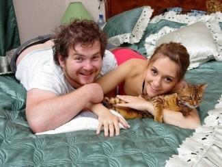 Аня Руднева и Павел Сердюк