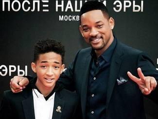 Уилл Смит со своим сыном Джейденом