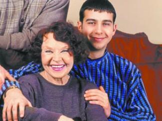 Иван Ургант со своей бабушкой Ниной Ургант