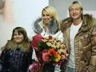 Яна Рудковская и Евгений Плющенко фото