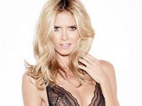 Хайди Клум в рекламе нижнего белья от Intimate lingerie (10 ФОТО)