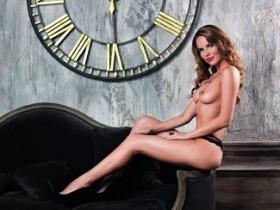 Фотомодель Кристина Якимова разделась для журнала Playboy