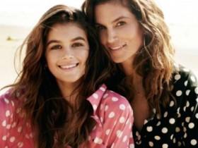 Синди Кроуфорд с сыном и дочерью в журнале Vogue (13 ФОТО)