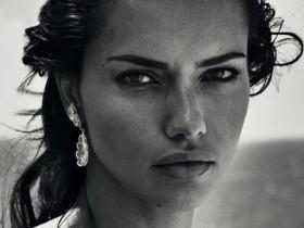 Знойная Адриана Лима в июньском Harper's Bazaar (11 ФОТО)