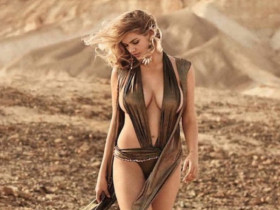 Беременная Кейт Аптон разделась для журнала Maxim (7 ФОТО)