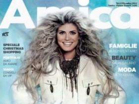 Хайди Клум в декабрьском номере Amica (7 ФОТО)