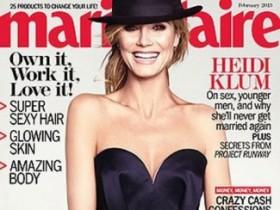 Хайди Клум в февральском Marie Claire (6 ФОТО)