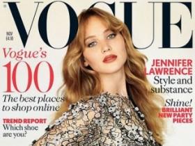 Дженнифер Лоуренс снялась для ноябрьского Vogue (11 ФОТО)