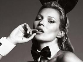 Кейт Мосс в юбилейном выпуске Playboy (15 ФОТО)