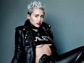 Майли Сайрус в недетской фотосессии V Magazine (8 ФОТО)