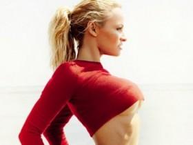 Неувядающая Памела Андерсон в журнале Vogue (8 ФОТО)