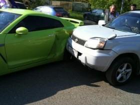 Рэпер T-killah попал в аварию (ФОТО)
