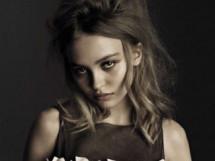 Дочь Джонни Деппа и Ванессы Паради Лили-Роуз Депп в журнале Vogue (7 ФОТО)