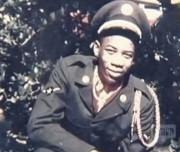 Ретрофото. Будущий актер Морган Фримен в ВВС США. 1955 год
