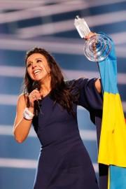 Украинская певица Джамала — победительница «Евровидения-2016»