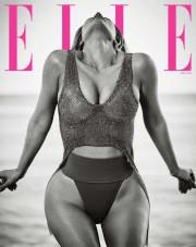 Ким Кардашян в апрельском Elle