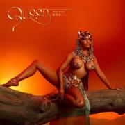 Ники Минаж на обложке своего нового альбома Queen