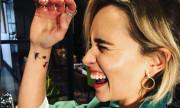 Эмилия Кларк сделала татуировку в честь «Игры престолов» — три дракона на руке