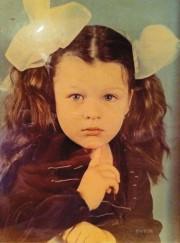 Милла Йовович в детском саду. Днепропетровск, СССР, 70-е