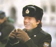 Джеки Чан в форме вооруженных сил РФ