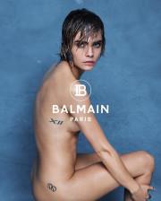 Кара Делевинь снялась полностью голой в рекламе одежды