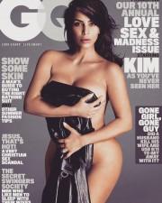 Ким Кардашьян снялась голой для обложки GQ