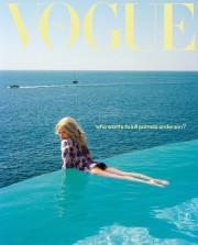 Памела Андерсон в 51 год впервые попала на обложку Vogue