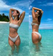 «Вот это орех!» Подписчики восхитились пляжным фото Юлии Паршуты
